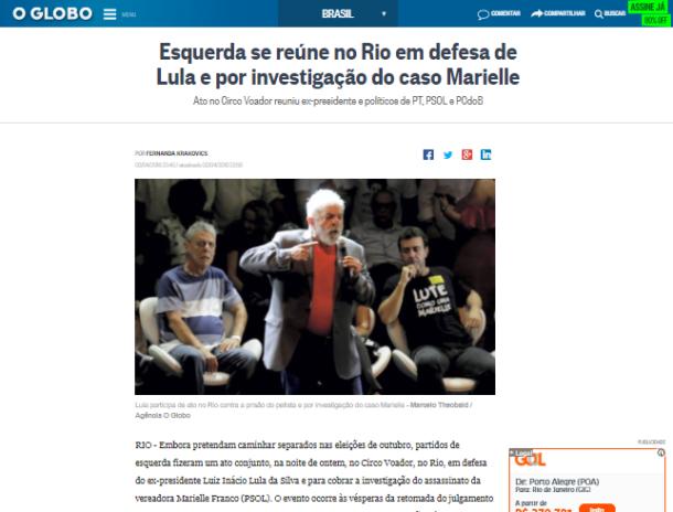 Globo Mentira