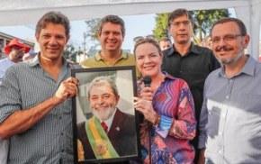 PT reafirma candidatura de Lula e lança plano degoverno