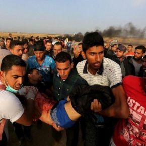 Um morto e quase mil feridos na terceira semana de protestos emGaza