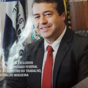 """MINISTRO DO TRABALHO ESCRAVO DEFENDE """"GAMBIARRA"""" POLÍTICA PARA RS """"SE LIVRAR"""" DE EMPRESASESTATAIS"""