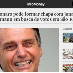Janaína Paschoal + Joyce Hasselman é a chapa de Bolsonaro emSP?