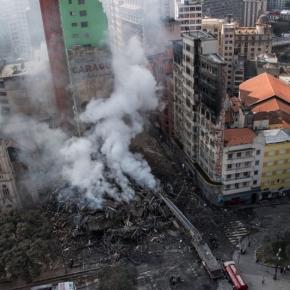 Entidades preparam atos de protestos e auxílio a vítimas do incêndio emSP