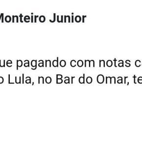 Bar oferece desconto para quem compra com cédulas carimbadas com#LulaLivre