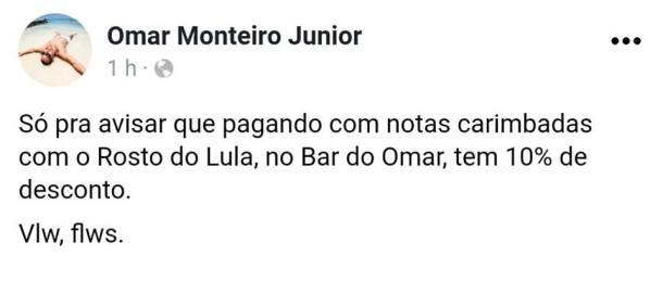 Lula desconto