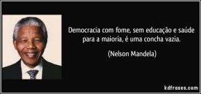 EDUCAÇÃO PARA A DEMOCRACIA (Por SelvinoHeck)