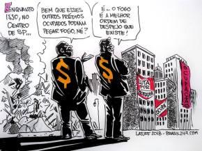 Desabamento em SP: A verdade desenhada pra quem ainda nãoentendeu