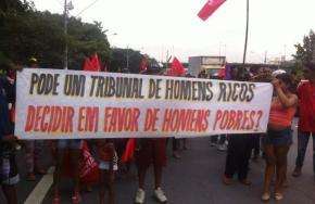 PESQUISA CNT/MDA:  90% do povo diz que justiça não é igual para todos! A Justiça é dosRicos!