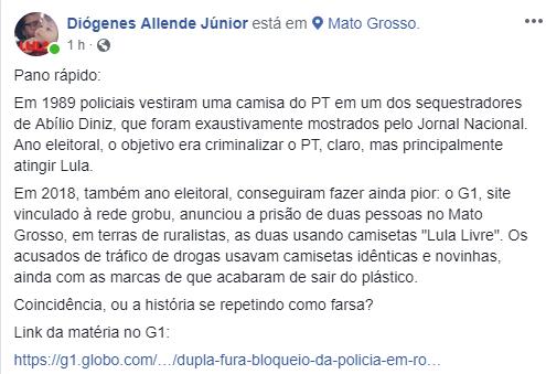 Globo bandida