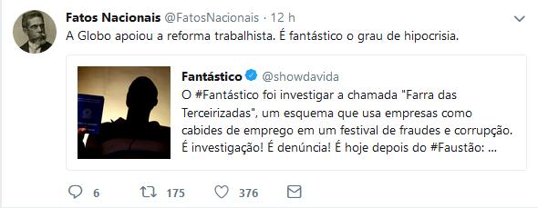 Globo terceirizadas