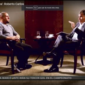 Ex-jogador Roberto Carlos a Rafael Correa: 'Com Lula acabamos com apobreza'