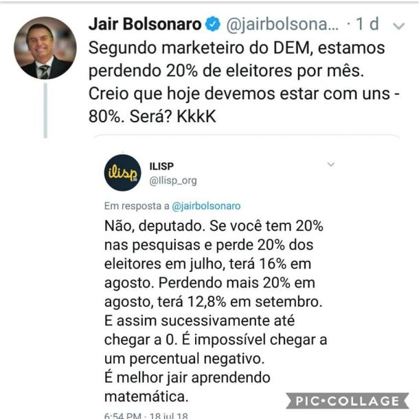 Bolsonaro imbecil