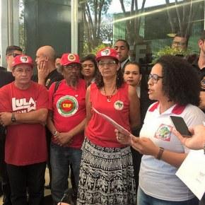 Em Brasília inicía Greve de Fome de militantes pela democracia e libertação deLula