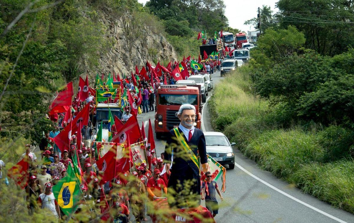 Marcha por Lula livre chega a Recife e mostra que mobilização é o caminho