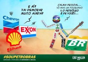O Petróleo ERA nosso: nova lei permitirá a venda de 70%do pré sal paraestrangeiras