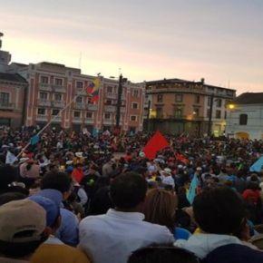 Povo do Equador vai as ruas contra Perseguição Política e em Defesa de RafaelCorrêa