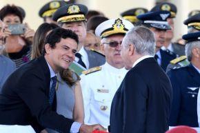 Para o eleitorado, Sérgio Moro e Michel Temer estão juntos, diz pesquisa publicada noEstadão