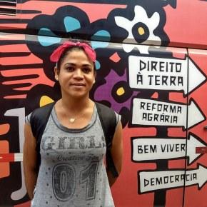 Rostos da Caravana Semiárido Contra a Fome: Soraya, mulher transexual, feminista e LGBT SemTerra