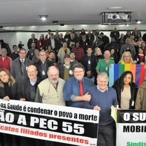 Trabalhadores em saúde, militantes sociais e parlamentares lançam Comitê Estadual em Defesa doSUS