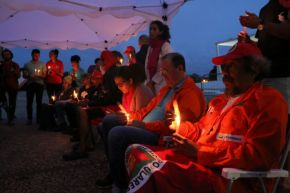 Greve de fome pela liberdade de Lula chega ao 22 dia e ganha apoio de centenas demilitantes
