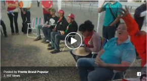 Em celebração ,militantes confirmam continuação da #GrevedeFome por  #JustiçanoSTF (Vídeo aoVivo)