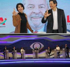 Preso em Curitiba, Lula venceu os dois debates da noite desta quinta, na Band e nasRedes