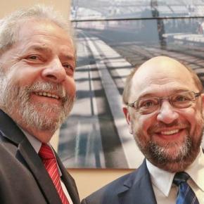 O significado da visita de Martin Schulz aLula