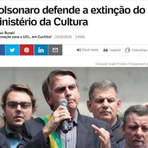 Incêndio no Museu? Bolsonaro propõe acabar com O Ministério da Cultura e Alckmin diz que problema foi ozelador