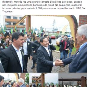 Empresariado gaúcho embarca na onda nazifascista e leva apoio a Bolsonaro eMourão