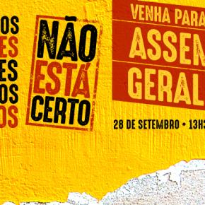 CPERS REALIZA ASSEMBLÉIA GERAL CONTRA 4 ANOS DE ATAQUES A DIREITOS DOSPROFESSORES
