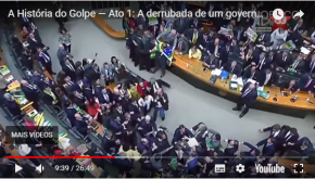 Dilma lança vídeo mostrando que golpe começou antes de 2014.Assista: