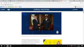 GLOBO CONSPIRA CONTRAELEIÇÃO: JN DE SÁBADO A NOITE NOTICIOU FAKE NEWS NA MAIOR CARA DEPAU