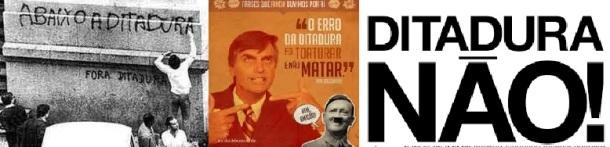 ditadura não