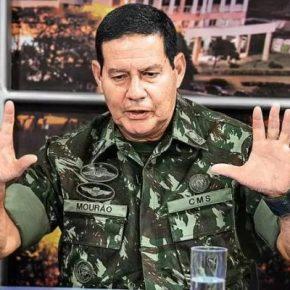 Coronel do exército acusa general Mourão, vice de Bolsonaro, de favorecer empresa em contrato doExército
