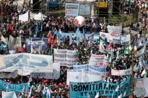 Governo de Macri enfrenta a quarta greve geral — Abril de NovoMagazine