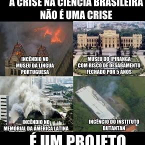 """O incêndio do Museu Nacional não foi um """"acidente"""". Ele faz parte de um Projeto (Por DiógenesJunior)"""