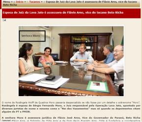 Maior beneficiário da prisão de Beto Richa é aliado da mulher deMoro