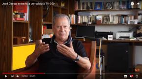 Zé Dirceu abre o verbo em Entrevista a TV GGN .Assista: