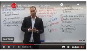 Em vídeo filho de Bolsonaro amaeaça TSE E STF . A resposta será novoacovardamento?