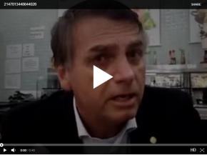 Em vídeo, Bolsonaro incentiva alunos gravarem professores e divulgar na sociedade? Corrobora a Deputada deSC?