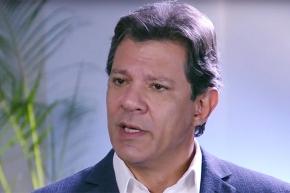 Haddad acusa Bolsonaro de criar organização criminosa para enviar notícias falsas porWhatsApp