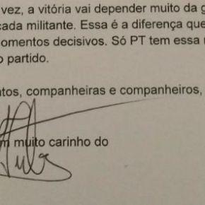Lula pede esforço extra por Haddad na semanafinal