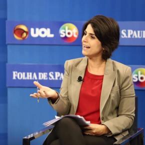 Em debate com vices, Manuela não deixa ataque sem resposta — Blog doRenato