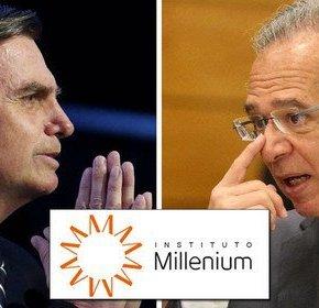 Ideólogo do candidato fascista é mandatário do InstitutoMillenium