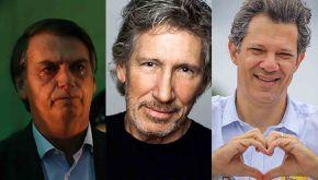 Bolsonaro quer cassar Haddad por causa de turnê de Roger Waters, ex-PinkFloyd