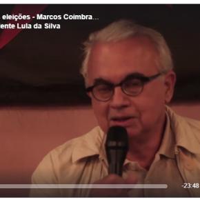 """Marcos Coimbra da VOX :""""Há movimento de mudança de votos e possibilidade de virada é grande""""(Vídeo)"""