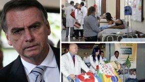Bolsonaro troca mais médicos por maisdoentes
