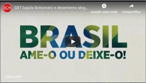 Para bajular Bolsonaro, Silvio Santos resgata slogans da DitaduraMilitar