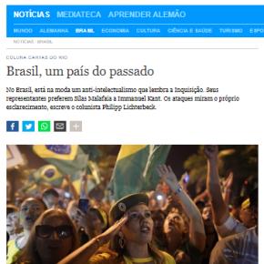 Brasil, um país do passado (Artigo da DeutscheWelle)