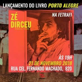 Zé Dirceu lançará seu Livro de Memórias em Porto Alegre no dia 21 denovembro