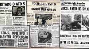 Os 50 anos do AI-5 e o Brasil a partir de2019